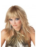 Feathered and Flirty Blonde Wig, halloween costume (Feathered and Flirty Blonde Wig)