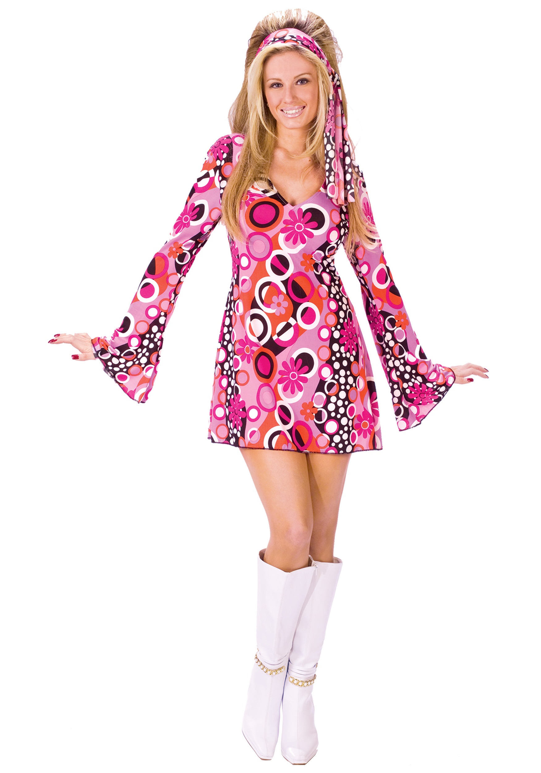 Feelin Groovy Disco Dress  sc 1 st  Halloween Costumes & Feelin Groovy Disco Dress - Halloween Costumes