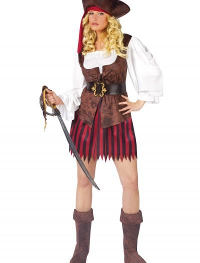 Female Caribbean Pirate Costume, halloween costume (Female Caribbean Pirate Costume)