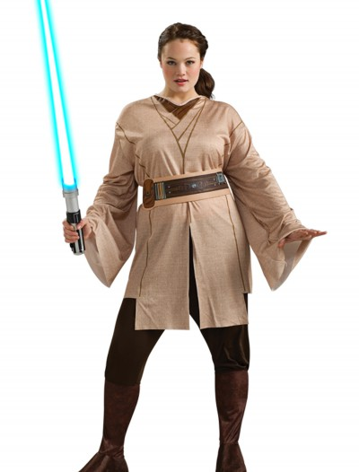 Female Jedi Costume Plus Size, halloween costume (Female Jedi Costume Plus Size)