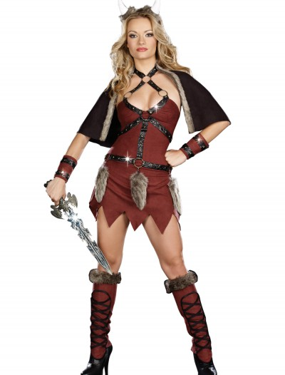 Female Viking Warrior Costume, halloween costume (Female Viking Warrior Costume)