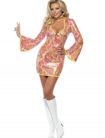 Fever Go Go Glitz Costume, halloween costume (Fever Go Go Glitz Costume)