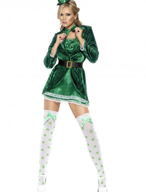 Fever Lady Leprechaun Costume, halloween costume (Fever Lady Leprechaun Costume)