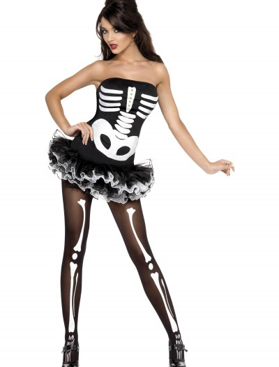 Womens Sexy Skeleton Costume, halloween costume (Womens Sexy Skeleton Costume)