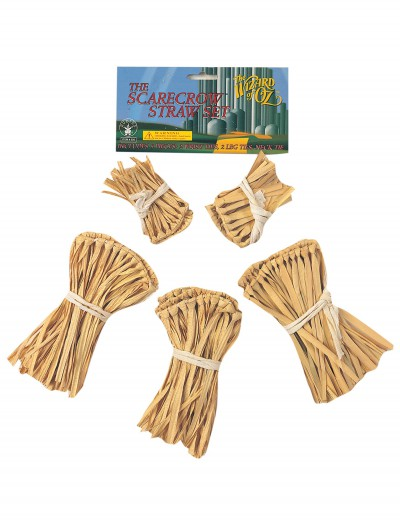 Five-Piece Scarecrow Straw Kit, halloween costume (Five-Piece Scarecrow Straw Kit)