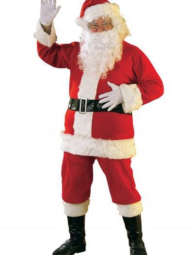 Flannel Santa Suit, halloween costume (Flannel Santa Suit)