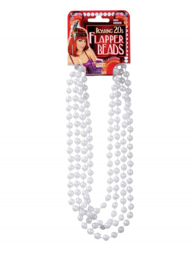 Flapper Pearl Necklace, halloween costume (Flapper Pearl Necklace)
