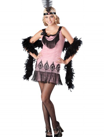 Flirty Teen Flapper Costume, halloween costume (Flirty Teen Flapper Costume)