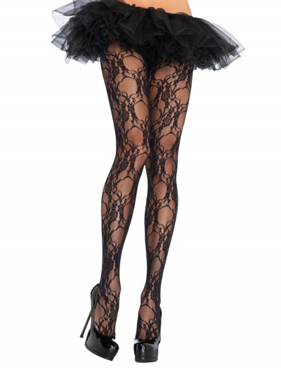 Floral Lace Pantyhose, halloween costume (Floral Lace Pantyhose)