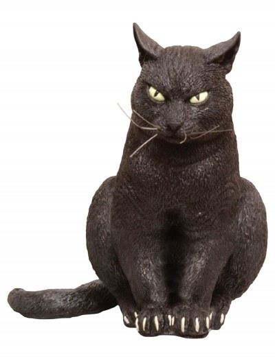 Foam Sitting Black Cat, halloween costume (Foam Sitting Black Cat)