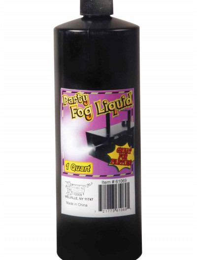 Fog Liquid Quart, halloween costume (Fog Liquid Quart)