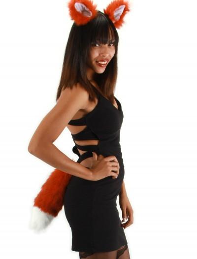Fox Ears and Tail Set, halloween costume (Fox Ears and Tail Set)