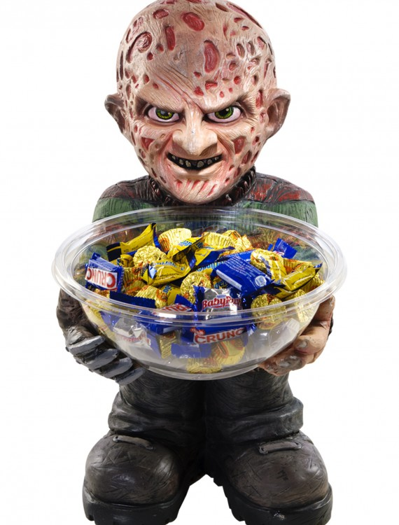 Freddy Candy Bowl Holder, halloween costume (Freddy Candy Bowl Holder)