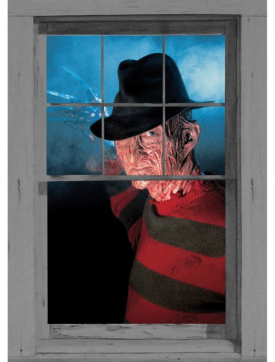 Freddy Krueger Window Cling, halloween costume (Freddy Krueger Window Cling)