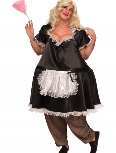 French Mega Maid Costume, halloween costume (French Mega Maid Costume)