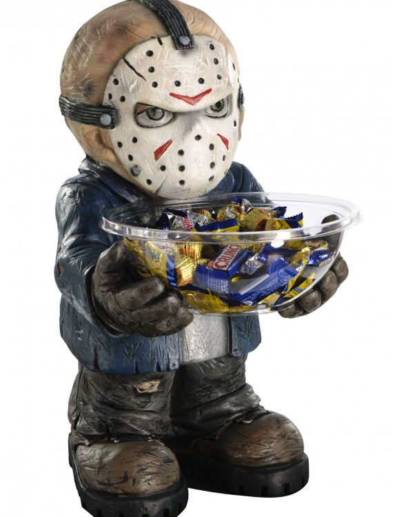 Friday the 13th Jason Candy Bowl Holder, halloween costume (Friday the 13th Jason Candy Bowl Holder)