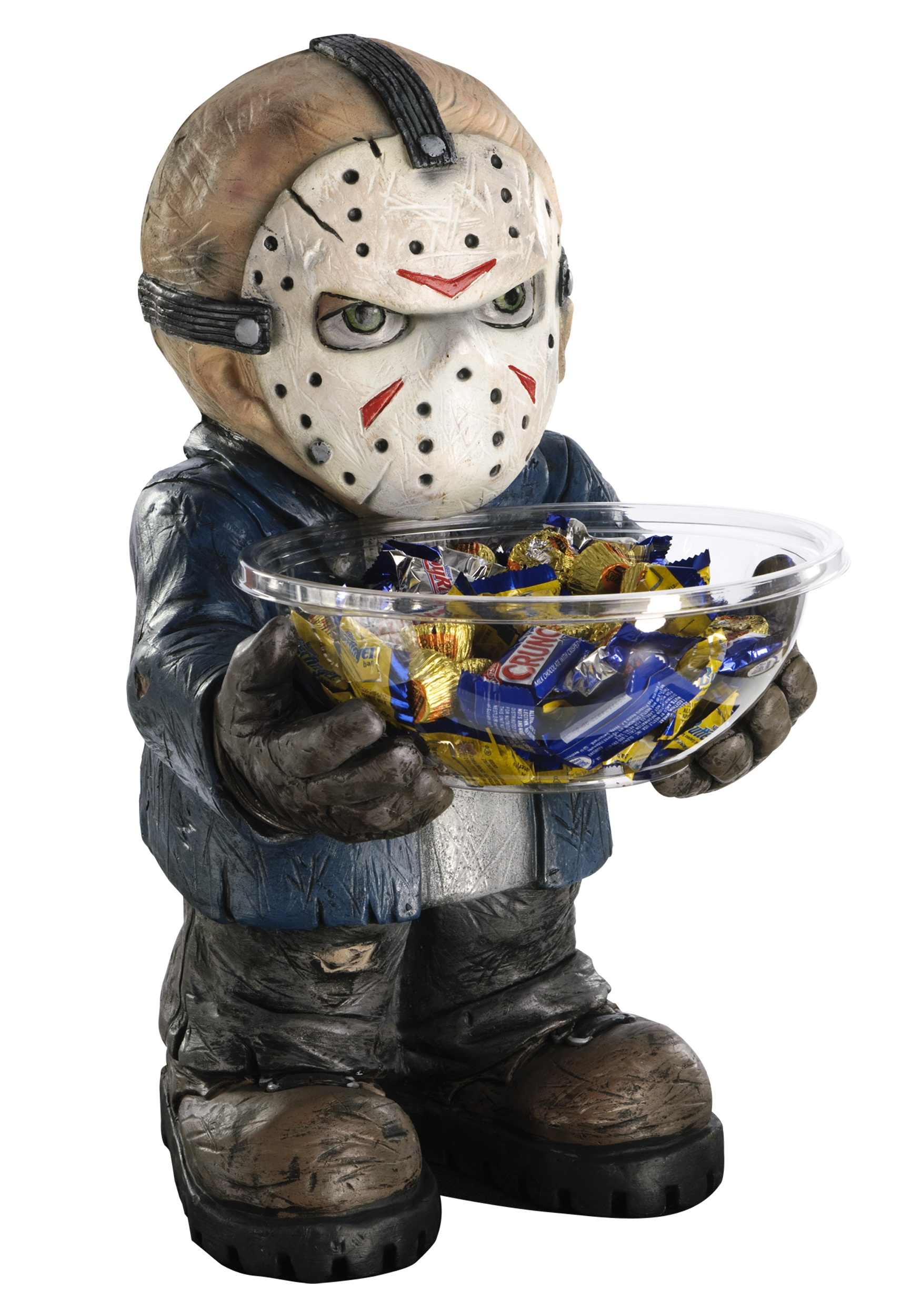 Halloween Costume Jason Friday 13th.Friday The 13th Jason Candy Bowl Holder