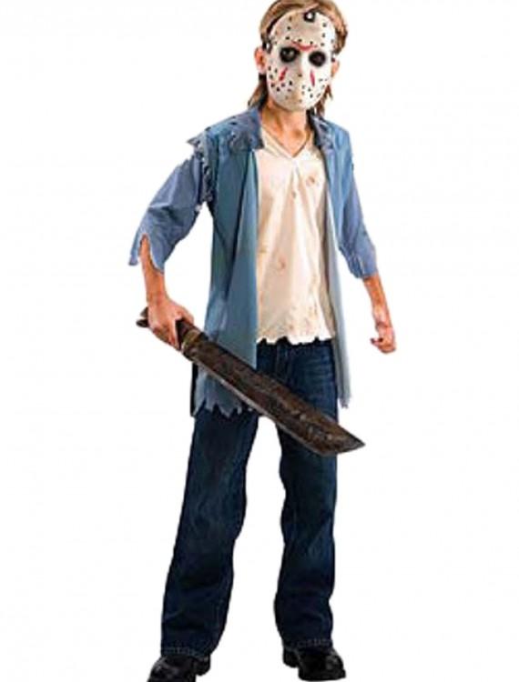 Friday the 13th Jason Teen Costume, halloween costume (Friday the 13th Jason Teen Costume)
