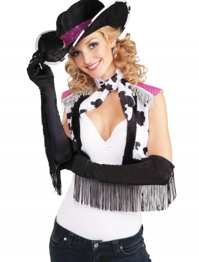 Fringe Cowgirl Gloves, halloween costume (Fringe Cowgirl Gloves)