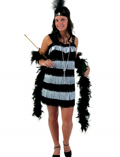 Fringe Style Flapper Dress, halloween costume (Fringe Style Flapper Dress)