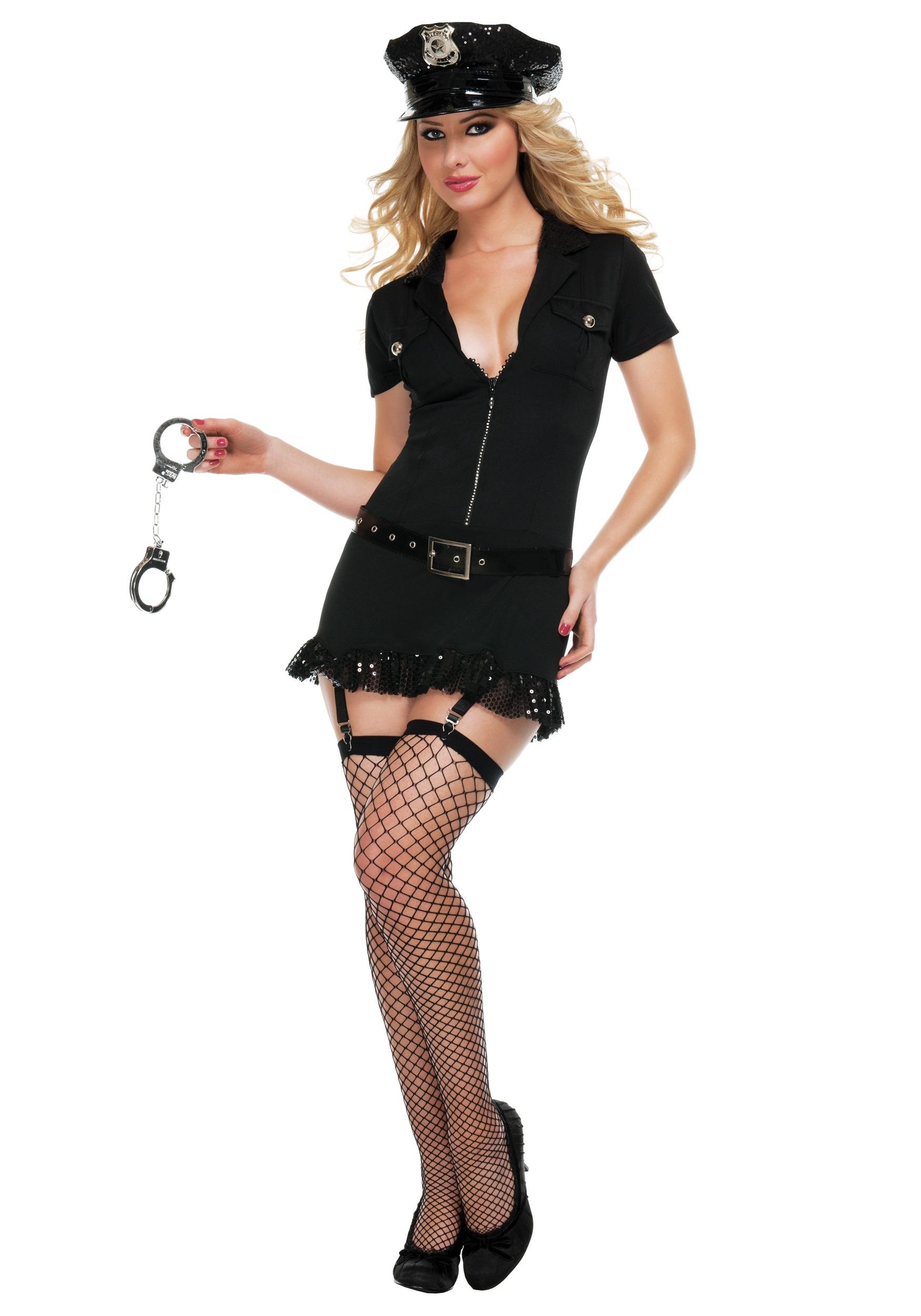 Frisk Me Please Cop Costume  sc 1 st  Halloween Costumes & Frisk Me Please Cop Costume - Halloween Costumes