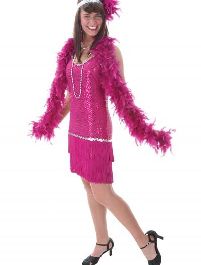 Fuchsia Flapper Dress, halloween costume (Fuchsia Flapper Dress)