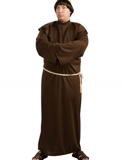 Full Figure Monk Costume, halloween costume (Full Figure Monk Costume)