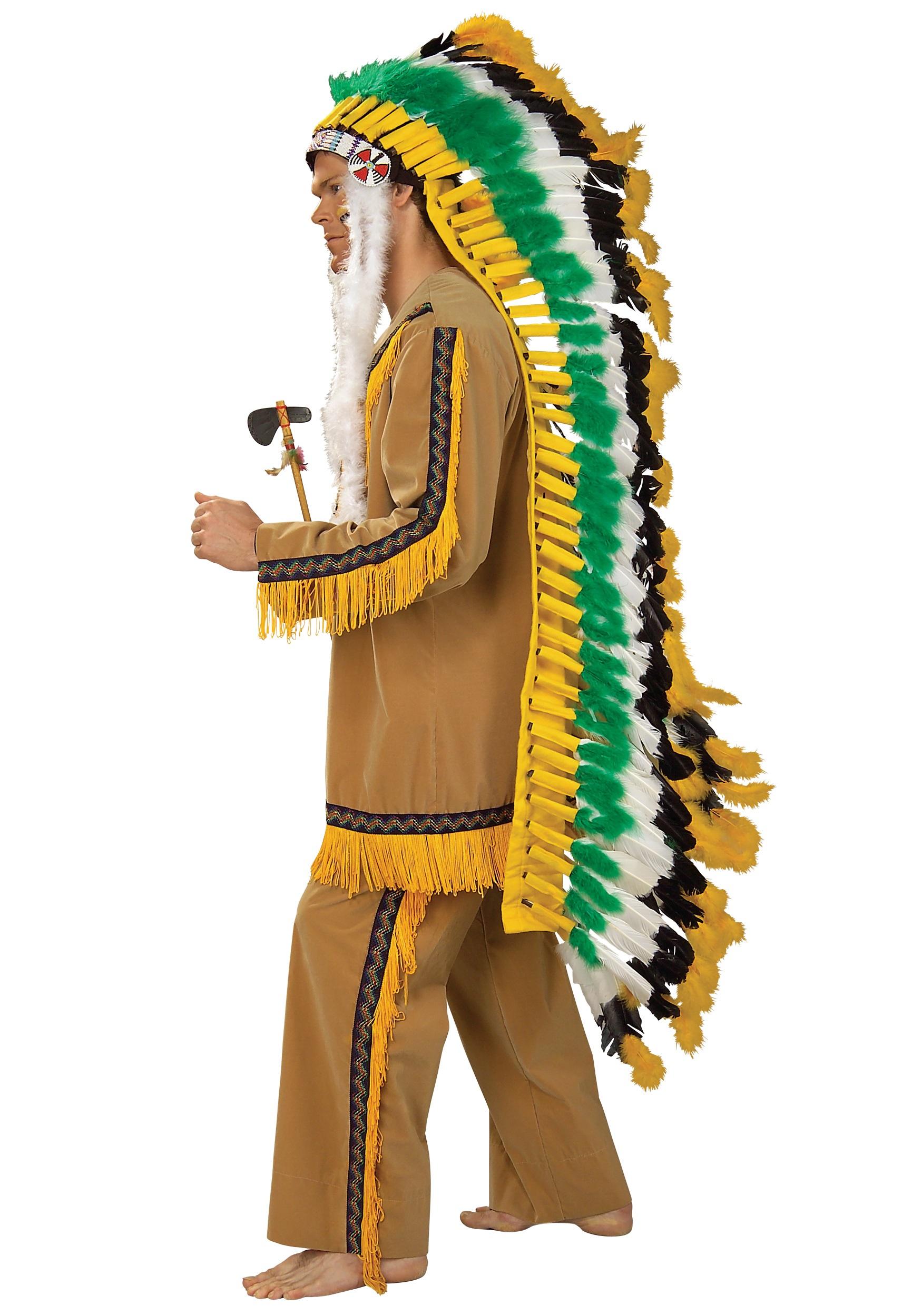 Full Native American Chief Headdress  sc 1 st  Halloween Costumes & Full Native American Chief Headdress - Halloween Costumes