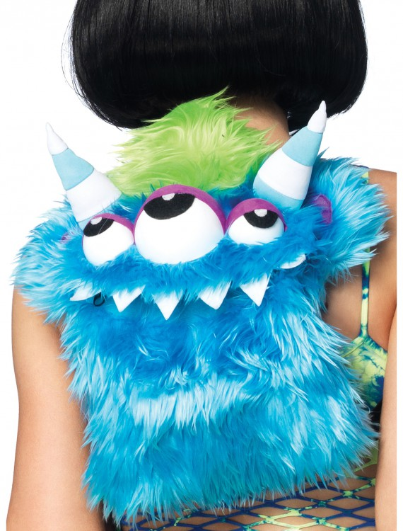 Furry Monster Backpack, halloween costume (Furry Monster Backpack)