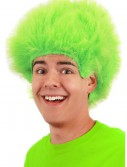 Fuzzy Lime Wig, halloween costume (Fuzzy Lime Wig)