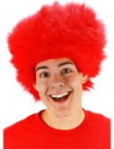 Fuzzy Red Wig, halloween costume (Fuzzy Red Wig)