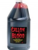 Gallon of Blood, halloween costume (Gallon of Blood)