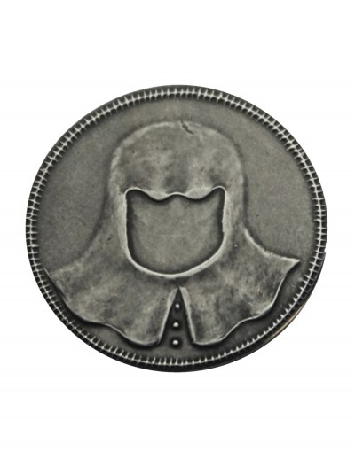 Game of Thrones Iron Coin of the Faceless Man, halloween costume (Game of Thrones Iron Coin of the Faceless Man)