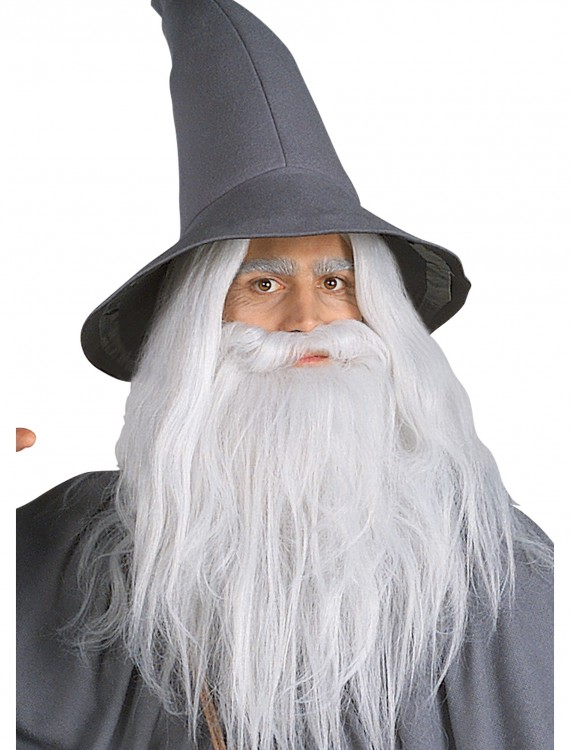 Gandalf Beard Kit, halloween costume (Gandalf Beard Kit)