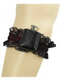 Gangster Garter Flask, halloween costume (Gangster Garter Flask)
