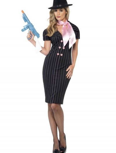 Gangster Moll Costume, halloween costume (Gangster Moll Costume)