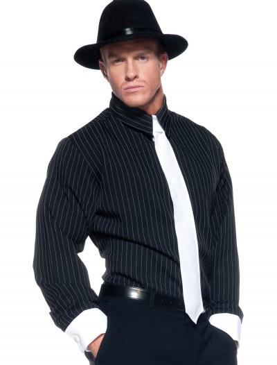 Striped Gangster Shirt, halloween costume (Striped Gangster Shirt)