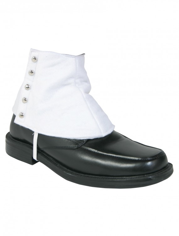Gangster Shoe Spats, halloween costume (Gangster Shoe Spats)
