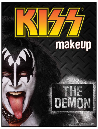 Gene Simmons Demon KISS Makeup, halloween costume (Gene Simmons Demon KISS Makeup)