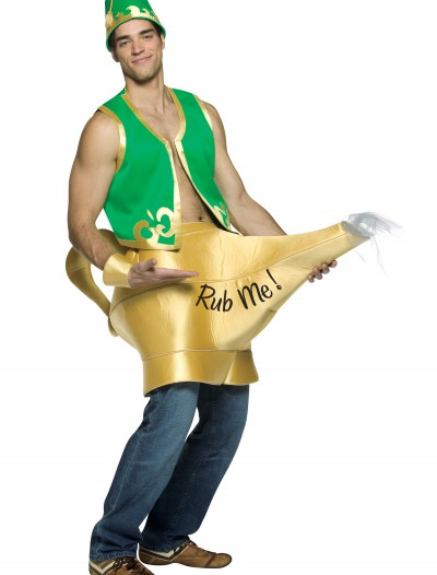 Genie and Magic Lamp Costume, halloween costume (Genie and Magic Lamp Costume)
