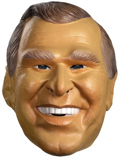 George Bush Mask, halloween costume (George Bush Mask)