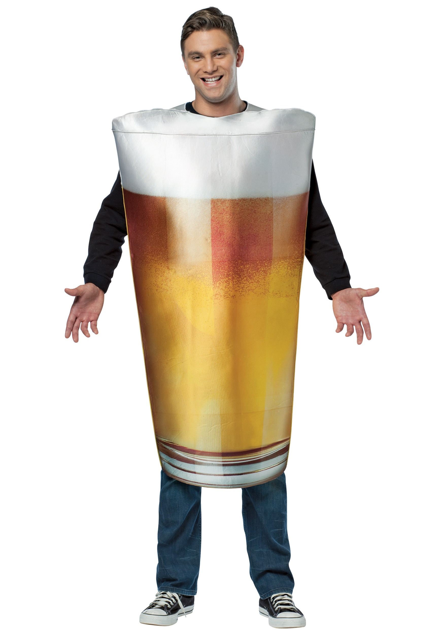 Get Real Pint Of Beer Costume