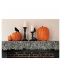 Ghostly Grey Spider Web Mantle Runner, halloween costume (Ghostly Grey Spider Web Mantle Runner)