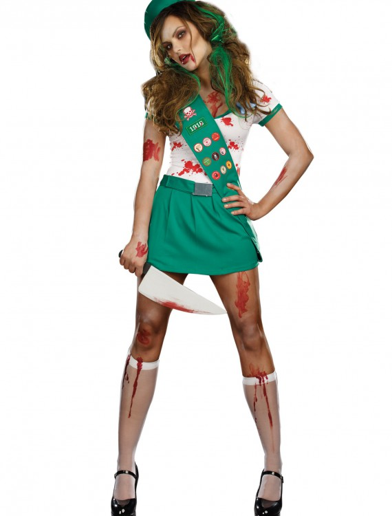 Ghoul Scout Zombie Costume, halloween costume (Ghoul Scout Zombie Costume)