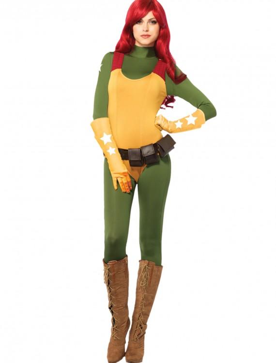 GI Joe Scarlett Adult Costume, halloween costume (GI Joe Scarlett Adult Costume)