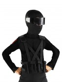 GI Joe Snake Eyes Vest, halloween costume (GI Joe Snake Eyes Vest)