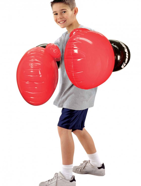 Giant Inflatable Boxing Gloves, halloween costume (Giant Inflatable Boxing Gloves)