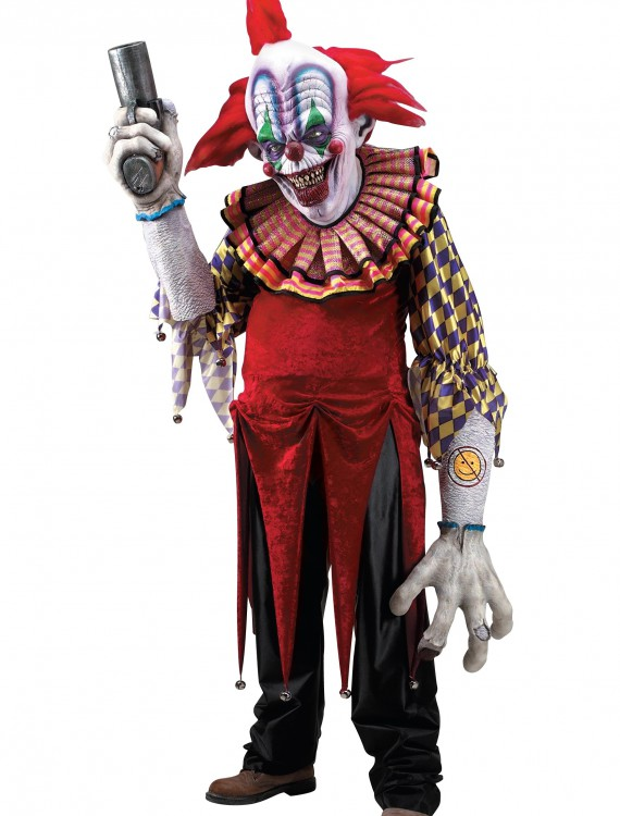 Giggles the Clown Creature Reacher Costume, halloween costume (Giggles the Clown Creature Reacher Costume)