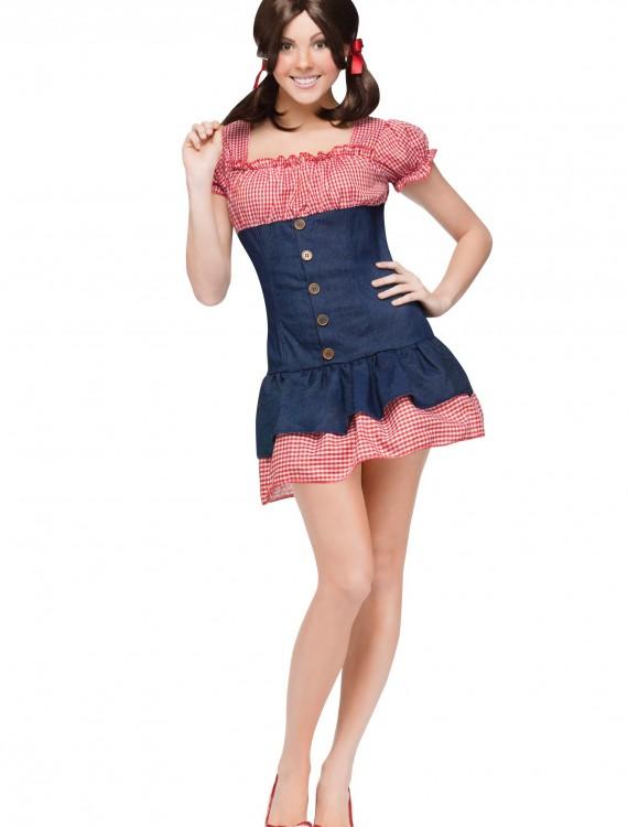 Gilligan's Island Mary Ann Costume, halloween costume (Gilligan's Island Mary Ann Costume)