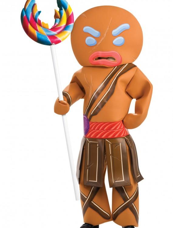 Gingerbread Man Warrior Costume, halloween costume (Gingerbread Man Warrior Costume)